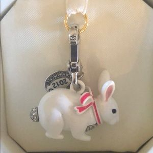 Juicy couture Easter bunny charm